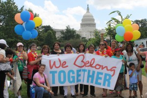 MUA representing with We Belong Together in Washington DC